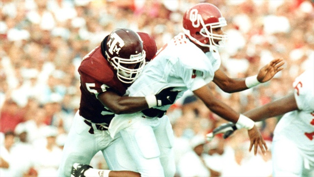 Aggie Flashback with former A&M LB Antonio Armstrong