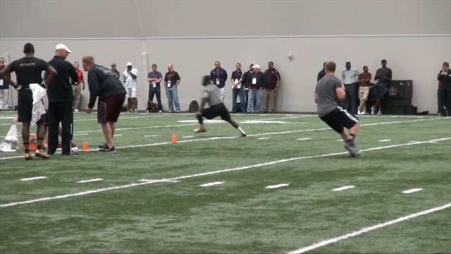 Sights & sounds from Ryan Tannehill's Pro Day performance