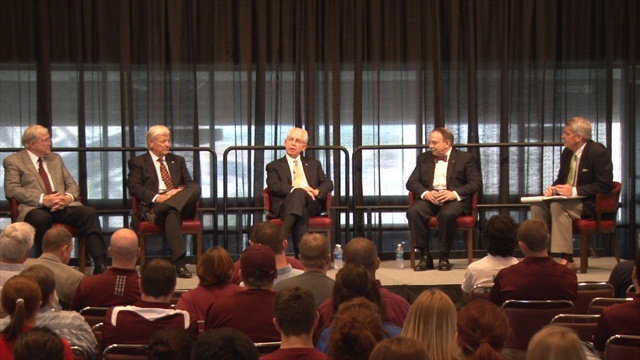 Video: Slive, Loftin headline symposium on college sports