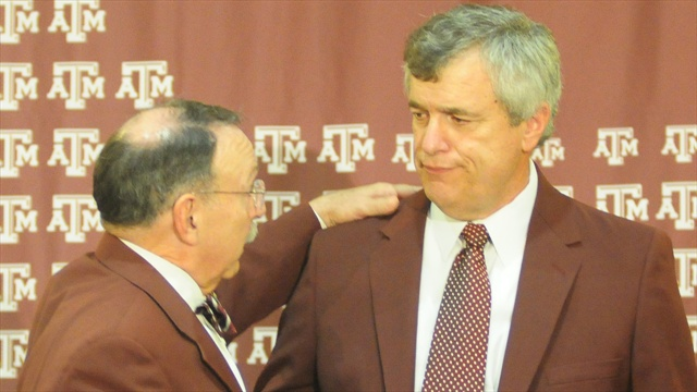 Texas A&M introduces Eric Hyman as next athletic director