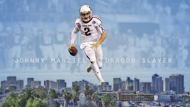 "NOW PLAYING: ""Johnny Manziel, Dragon Slayer"""