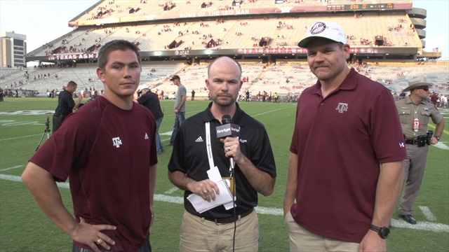 Post-game wrap with Brandon Leone and Seth McKinney
