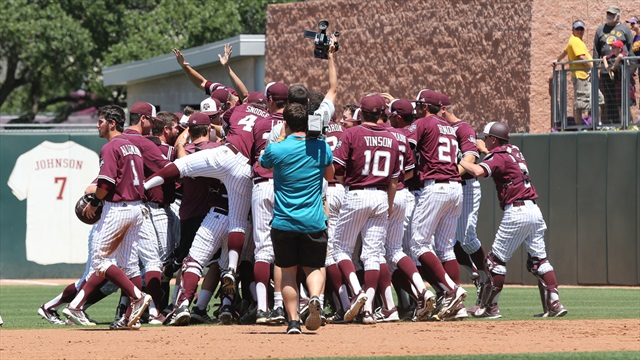 A&M ties series with LSU thanks to Lankford, Olsen Magic