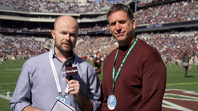 Kyle Field post-game wrap with Olin Buchanan