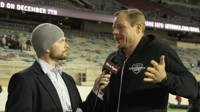 Kyle Field post-game wrap with Seth McKinney
