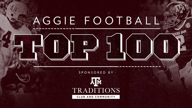 Aggie Football Top 100: Countdown begins May 4