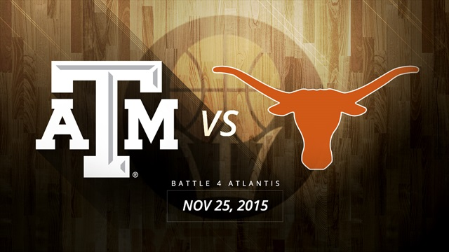 Texas A&M, Texas paired in Battle 4 Atlantis opening round