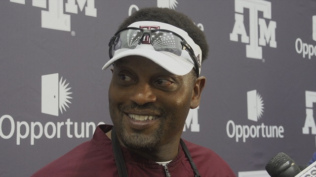 Fall Day 1: Kevin Sumlin, Tra Carson open up fall practices