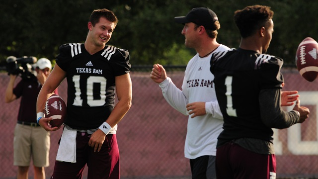 Sights & Sounds: Day 12 of Aggie Football's Fall Camp