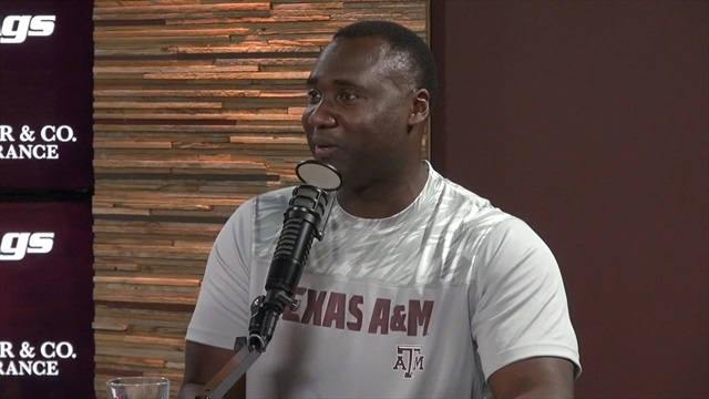 Larry Jackson shares offseason progress made in A&M's weight room