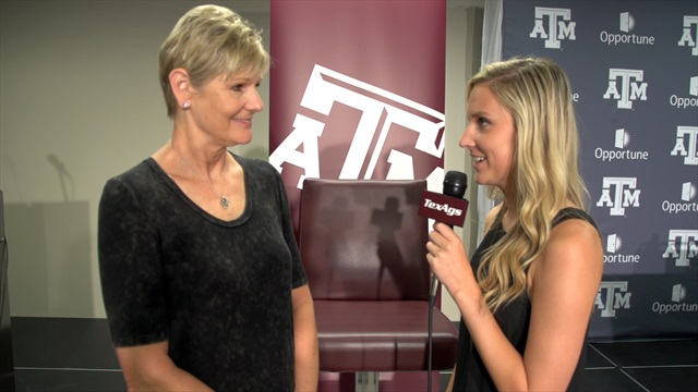 Laurie Corbelli sizes up the 2015 Texas A&M volleyball team
