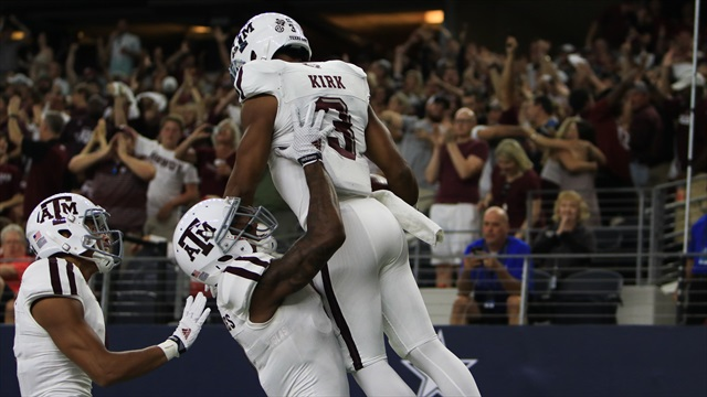 Aggies' resilience in Arlington states their case
