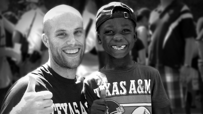 Father & Son: Famous' First Aggie Gameday